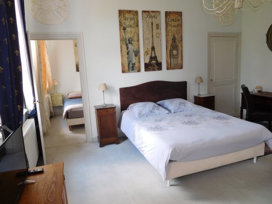 Lannoy, Francia: Suite Jules Verne - 2 chambres attenantes