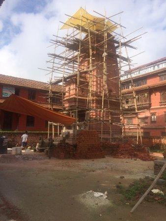 Bhaktapur, Nepal: Blick