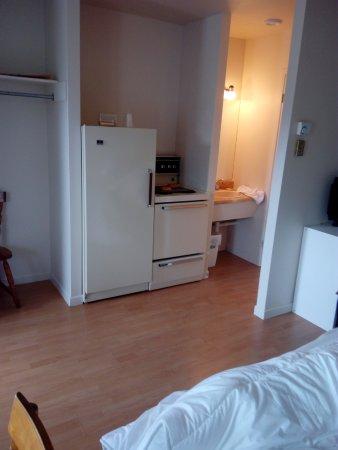 Maison Chez Laurent : cuisinière