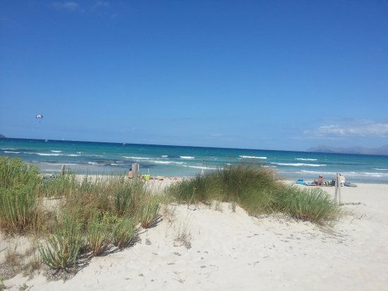 Muro, إسبانيا: Playa de Muro/ Son Serra de Marina