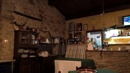 Pieve Torina, Italia: Interno locale