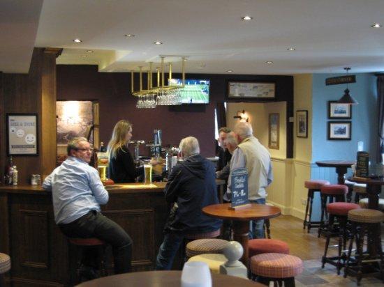 Galashiels, UK: The bar area