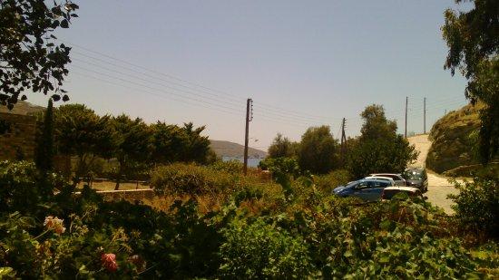 Agios Romanos, Grecja: The view