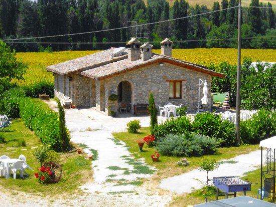 Agriturismo I Due Mondi: villa il ranch