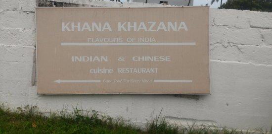 Khana Khazana: Sign Board of Restaurant