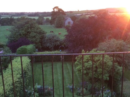 Staverton, UK: View from attic bedroom