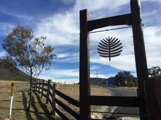 Wolgan Valley, ออสเตรเลีย: Front gate