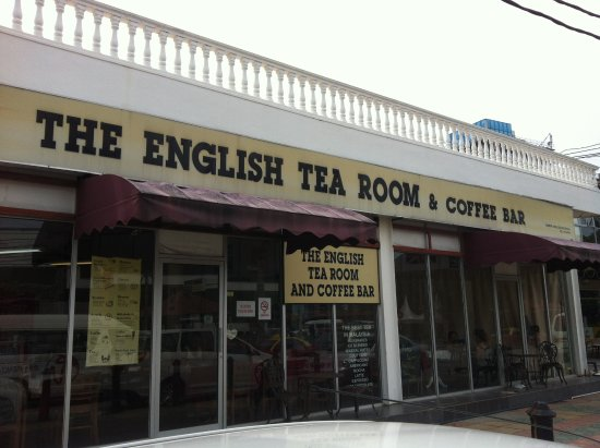 The English Tea Room: Quaint little cafe located at Cenang beach at Langkawi Malaysia