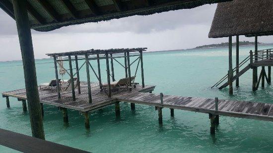 Cocoa Island by COMO: Private deck!