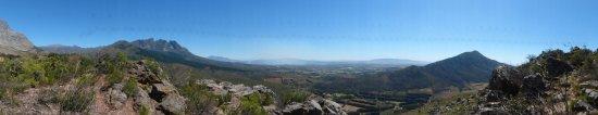 Wellington, جنوب أفريقيا: Blick auf das Tal