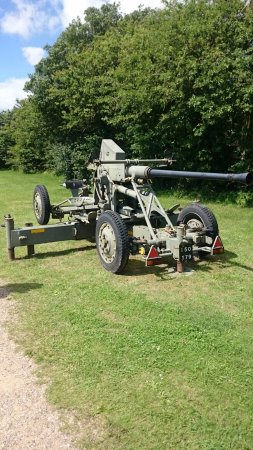 Roedvig, Denmark: coldwar equipment...