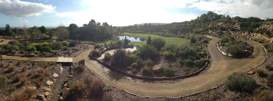 Mornington Peninsula, Australia: The Crater Garden
