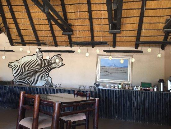 Khorixas, Namibia: diningroom