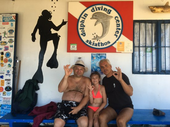 Skiathos by, Hellas: beautiful diving lesson