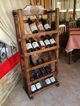 Lozenets, Bulgaria: Bellissimo's restaurant Wine list