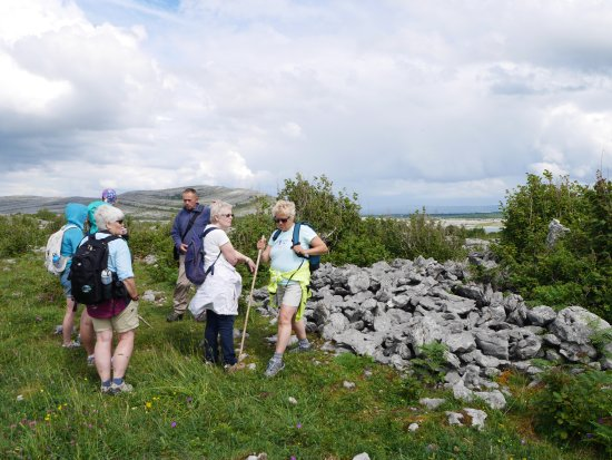 Kilfenora, Ireland: our group with TONY