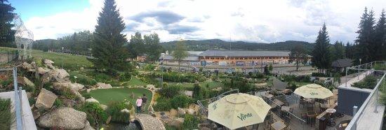panorama z terasy