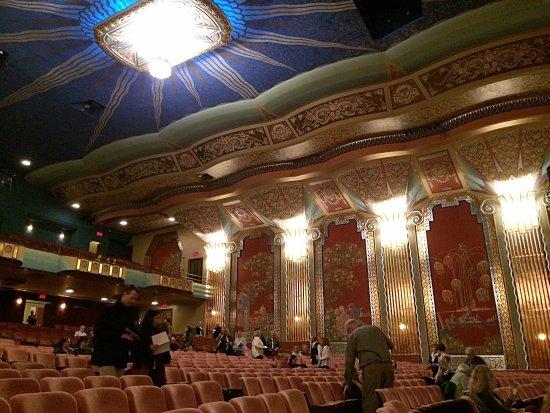 El Paramount Theatre Por Dentro
