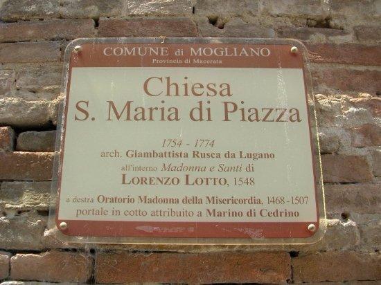 Mogliano, Ιταλία: Insegna turistica
