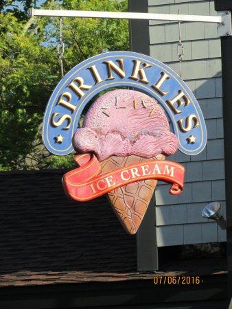 Sprinkles Ice Cream: Sprinkles are the best!