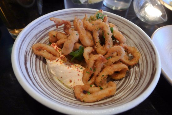 Yardley, PA: Spicy calamari