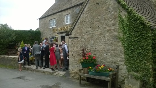 somebodys special day at the whearsheaf in oaksey best whishes