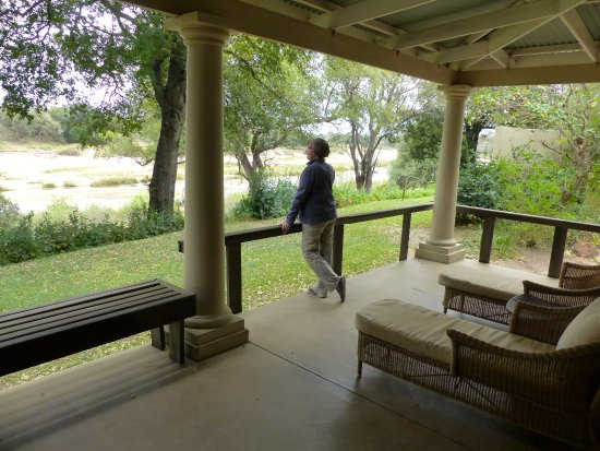 Mala Mala Private Game Reserve, Sydafrika: View from our deck