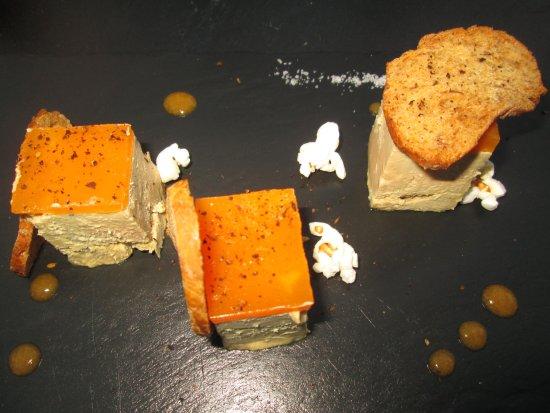 O Caprices de Mathias : foie gras .