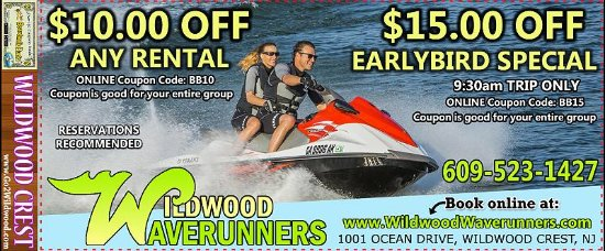 Wildwood Waverunners (Wildwood Crest) - 2019 All You Need to Know