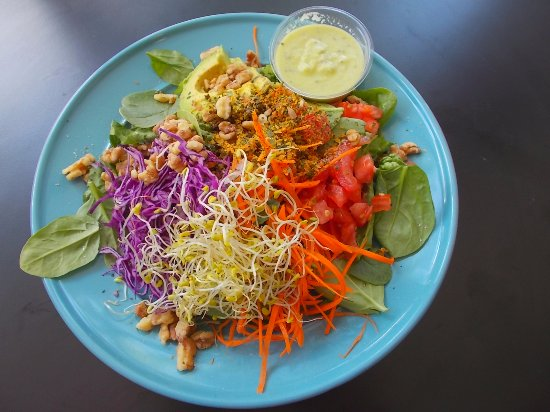 TRY IT RAW Birmingham MI outstanding Vegan Salad