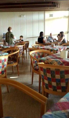 Hotel Miralaghi: Sala della colazione.