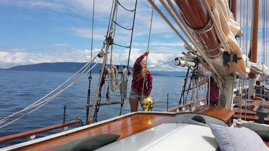 Schooners North: Setting the sails