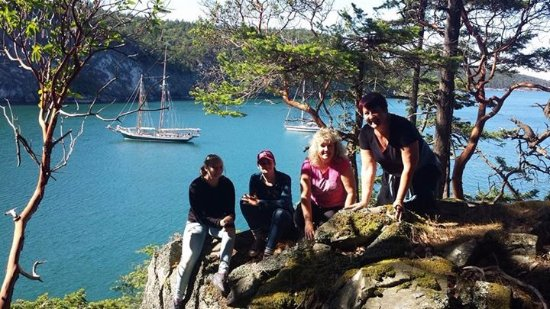 Schooners North: Hike on Lopez island