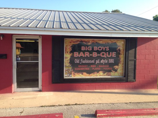 Rockdale, TX: Big Boys BBQ