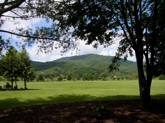 Valle Crucis, NC: View from the path
