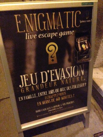 Enigmatic Lyon - Live Escape Game