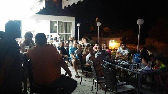 Mimice, Croacia: Caffe bar pizzeria puntari