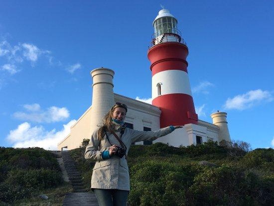 Cape Agulhas, Zuid-Afrika: Unbedingt rauf...