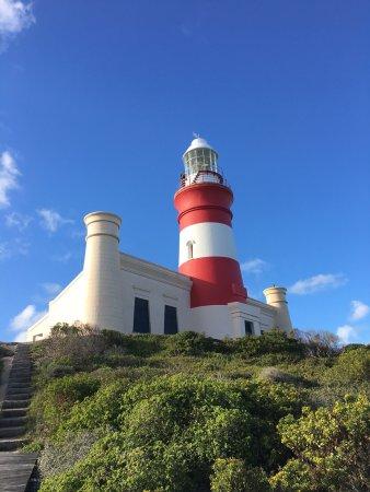 Cape Agulhas, Afrique du Sud : Unbedingt rauf...