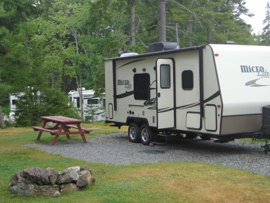 Gray Homestead Camping: RV site