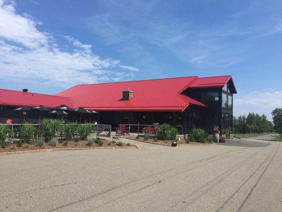 Malagash, Canadá: Jost Vineyards Seagrape Cafe
