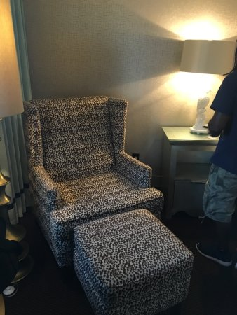 The Chelsea: Plush leopard print chair