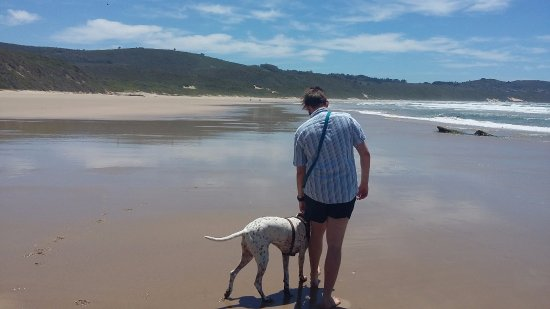 Buffalo Bay: walking to Brenton