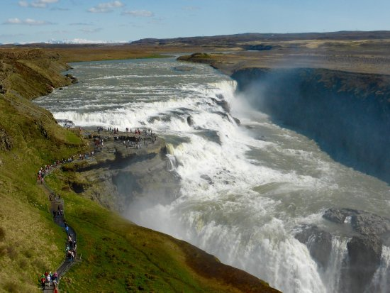 Decatur, Джорджия: Waterfall ...Gulffoss,  Iceland