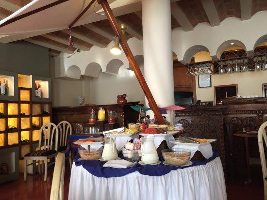 Hotel Rosario La Paz : Fruits and Shakes