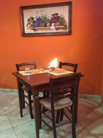 Castelfiorentino, Italy: Saletta ristorante