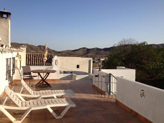 Sorbas, Spania: Terrace