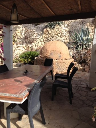 Sorbas, İspanya: Outside bread oven
