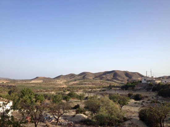 Sorbas, Spania: View from Almond Reef