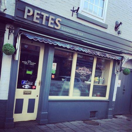 Ellesmere, UK: Petes Sandwich Bar
